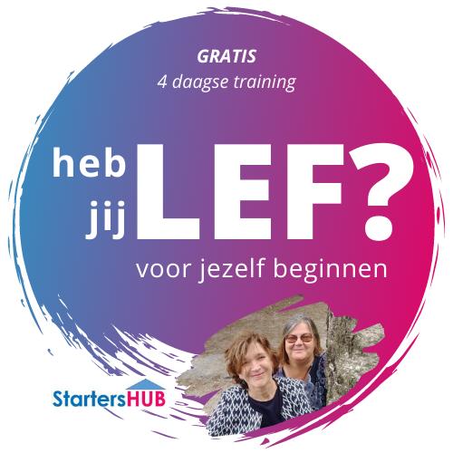 heb jij LEF? StartersHUB.nl